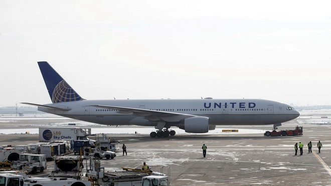 Một chuyến bay của United Airlines /// Reuters