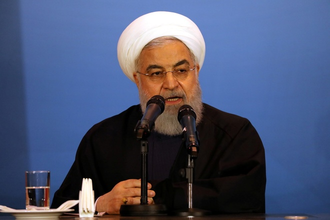 Tổng thống Hassan Rouhani /// Reuters