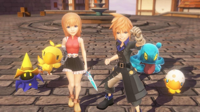 Game nhập vai World of Final Fantasy sắp ra mắt trên PC