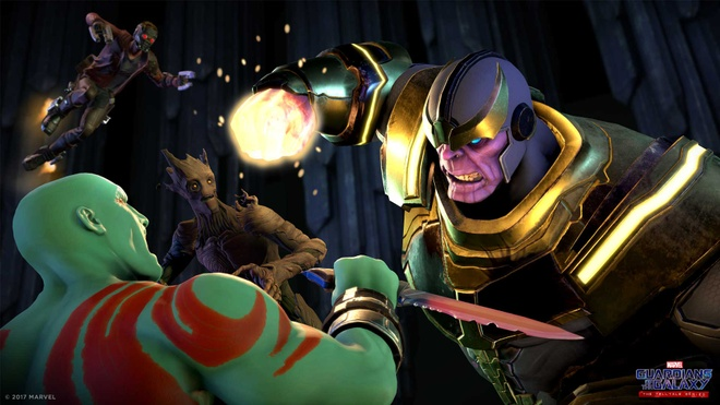 Game phiêu lưu Guardians of the Galaxy tung trailer phần 5