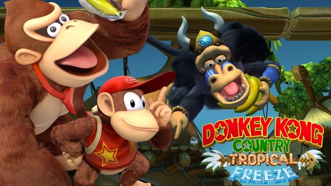 Thưởng thức trailer Donkey Kong Country: Tropical Freeze