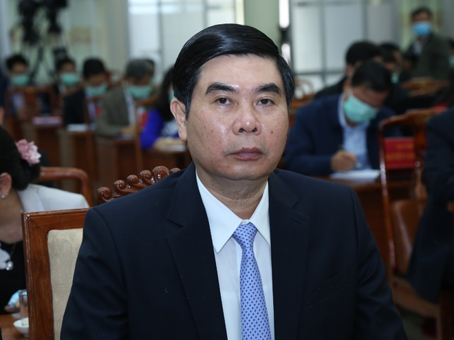 Binh Dinh Provincial People's Committee has a chairman and two new vice presidents - photo 2
