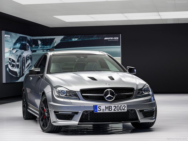 Mercedes ra mắt xe thể thao hạng sang C63 AMG Edition 507