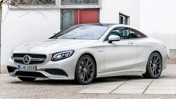 Lộ diện Mercedes-Benz S63 AMG Coupe 2015