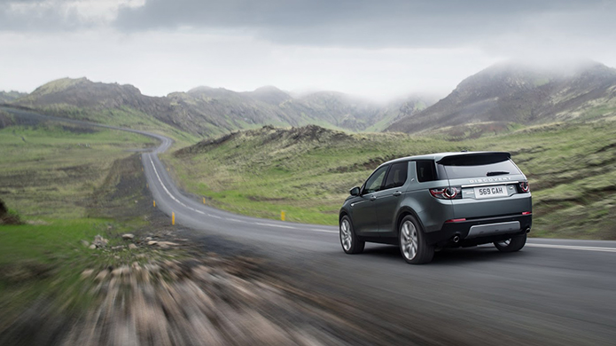 Land Rover Discovery Sport 2015 lộ diện