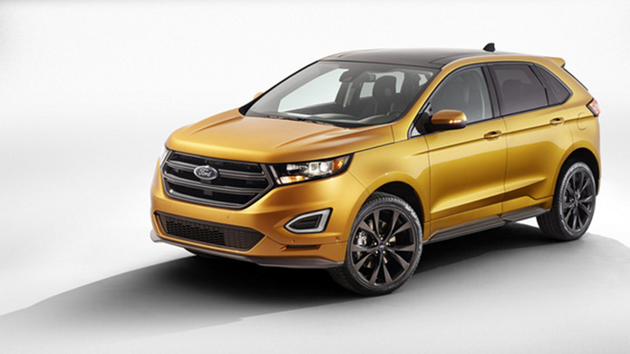 Ford Edge Sport 2015 - chiếc crossover mạnh mẽ lộ diện