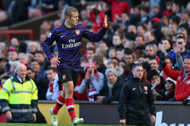 Jack Wilshere trở lại tuyển Anh