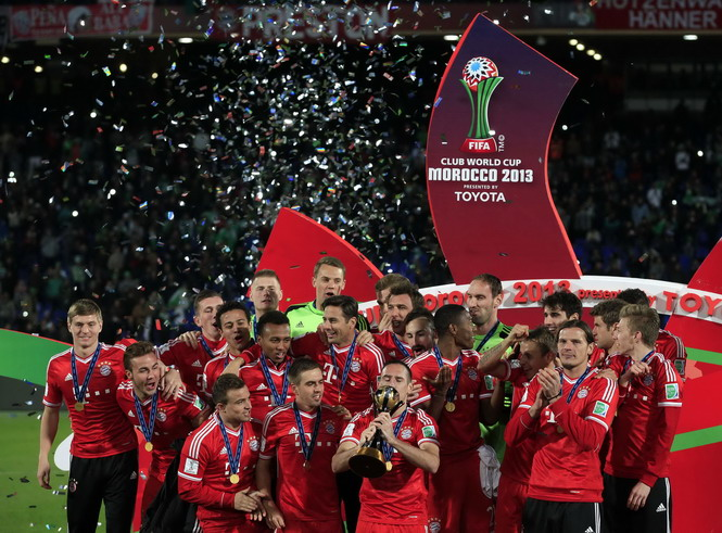 Bayern Munich đăng quang FIFA Club World Cup 2013