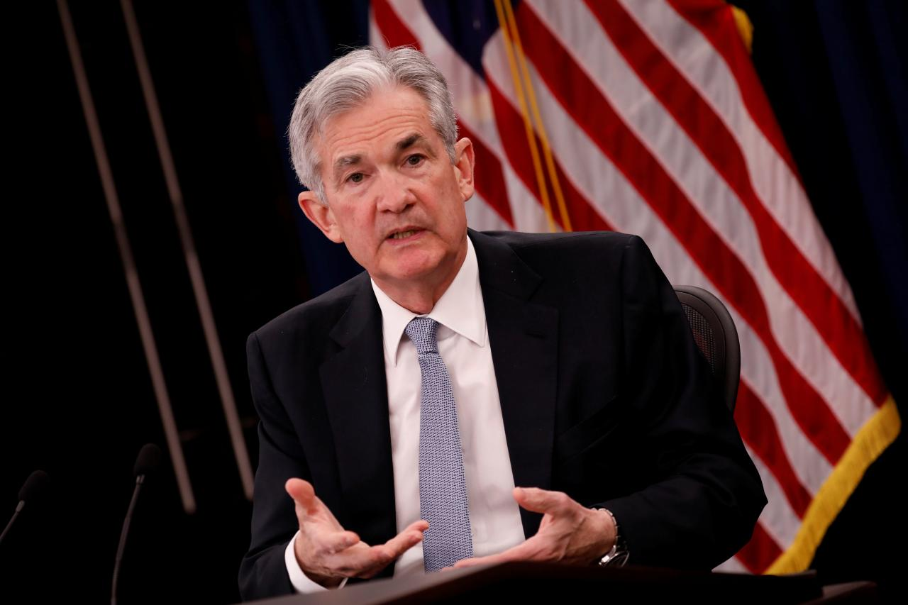 Chủ tịch Fed Jerome Powell /// Reuters