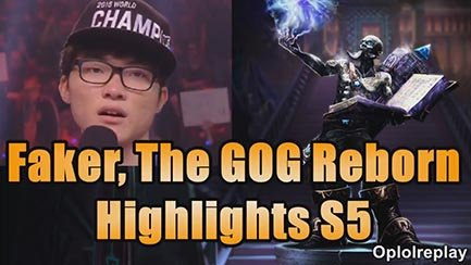 Video LMHT: Faker CKTG mùa 5 - The God of Gods reborn