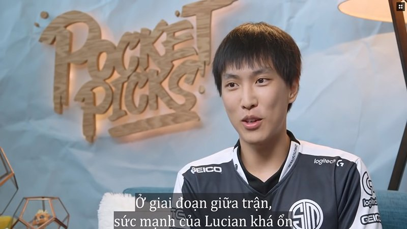 Video LMHT: Lựa chọn tủ - Lucian trong tay Doublelift