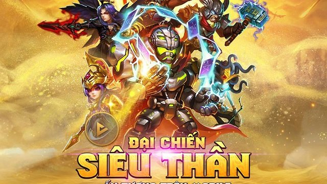 Game di động Warriors Of The World chính thức ra mắt