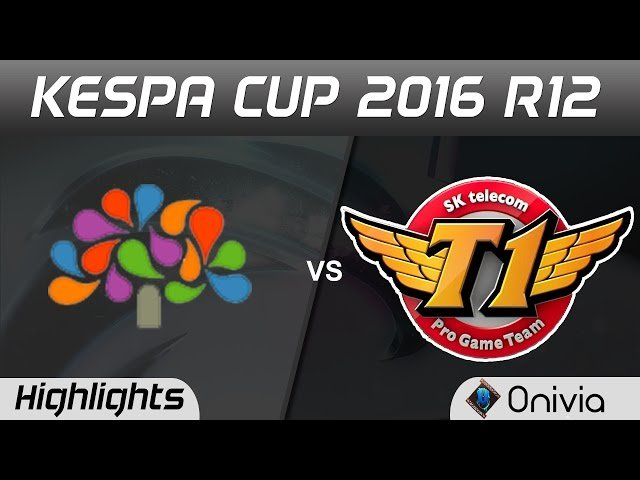 Video LMHT: Highlight Chungnam đối đầu SKT (Kespa Cup 2016 - Game 1)