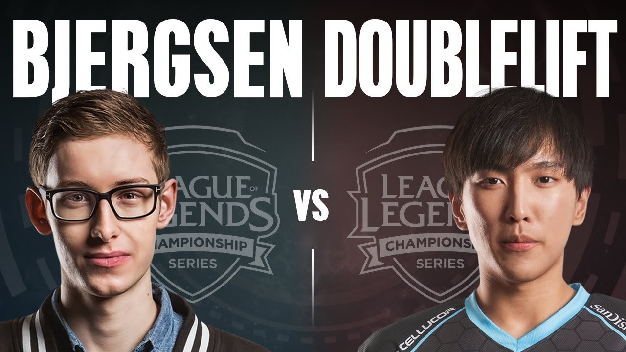 Video LMHT: Doublelift cầm Lucian solo 1v1 với Bjergsen
