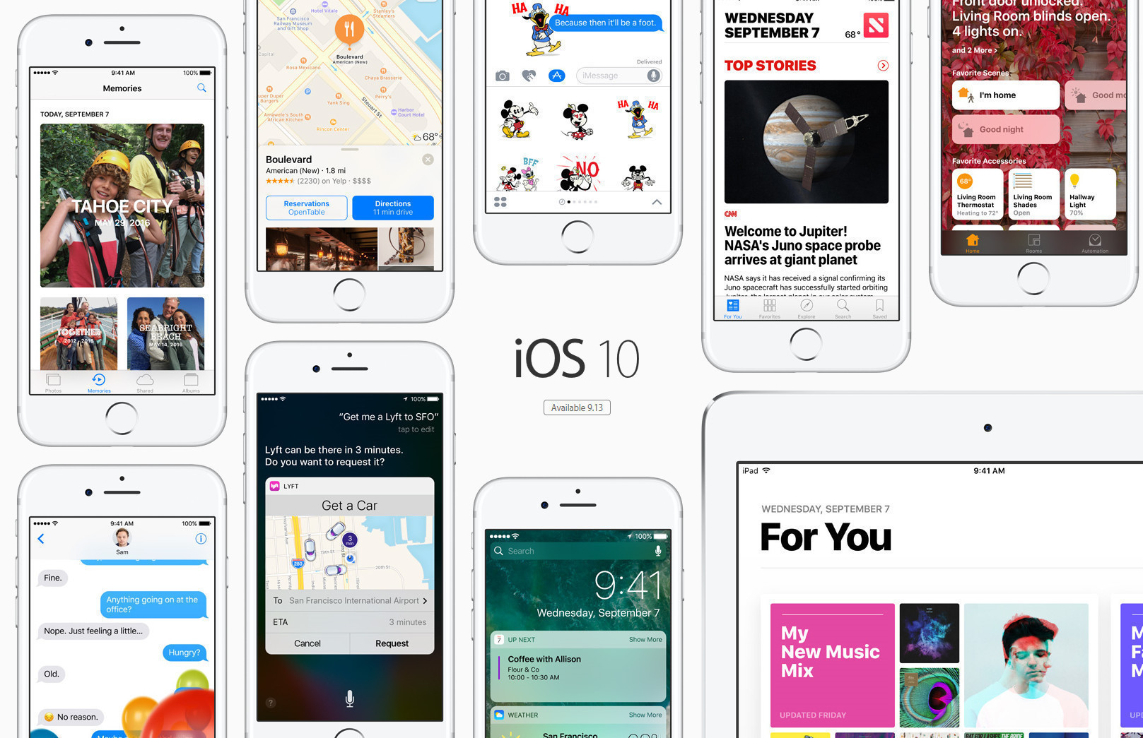 iOS 10 /// Ảnh: Apple