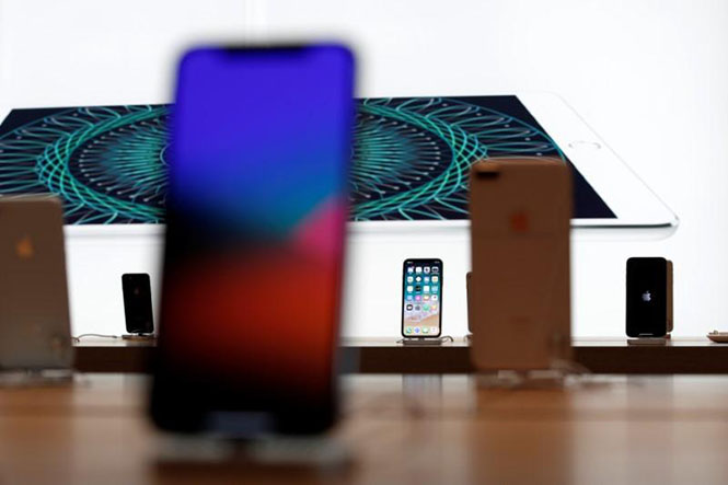 iPhone X của Apple /// Ảnh: Reuters