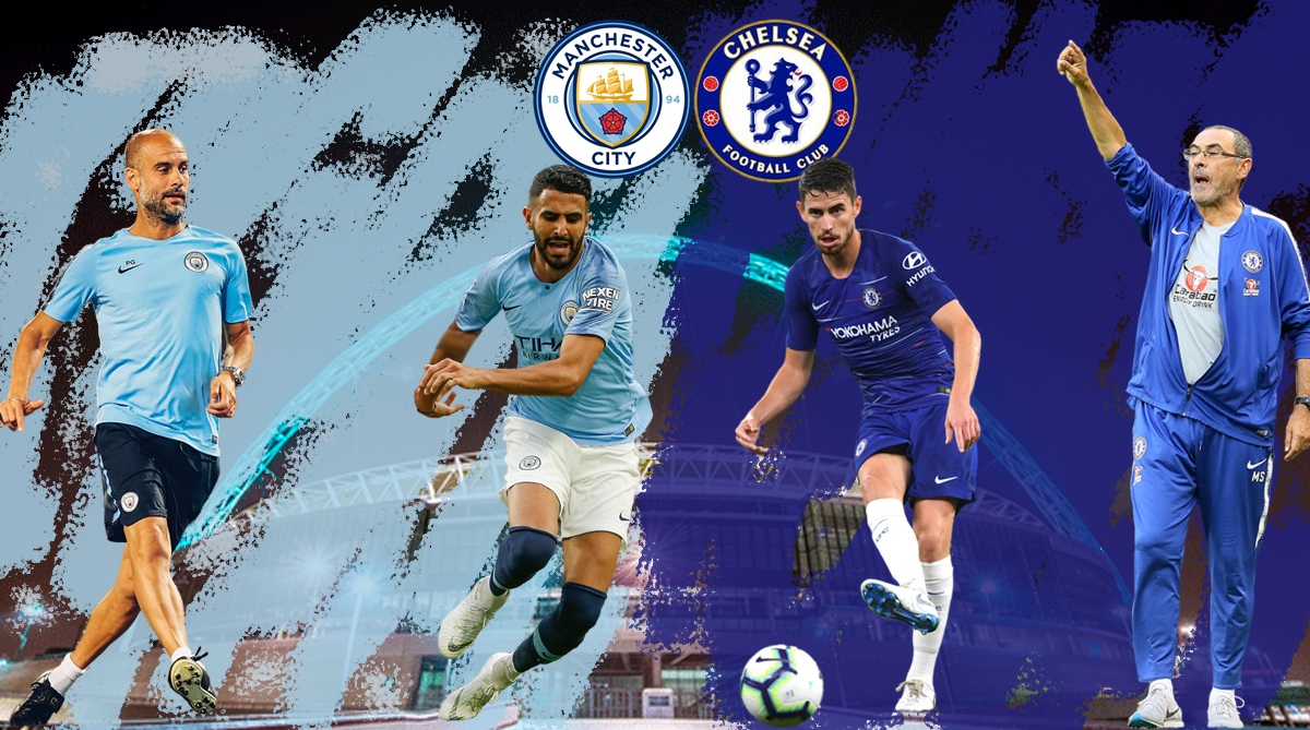 Man City vs Chelsea Community Shield 2018 /// AFP/thestatesman.com