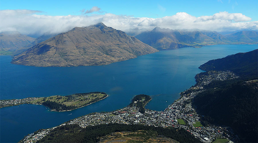 Thị trấn Queenstown (New Zealand) /// Ảnh: Reuters
