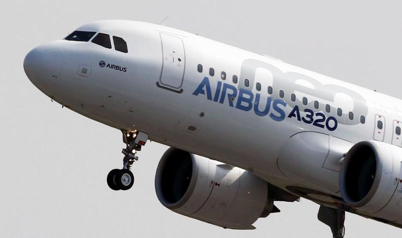 Chiếc Airbus A320neo /// Ảnh: Reuters
