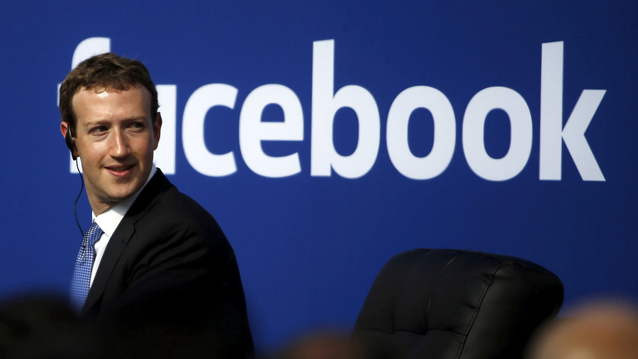 CEO Facebook Mark Zuckerberg /// Ảnh: Reuters
