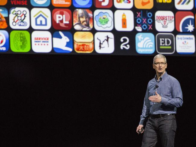 CEO Apple Tim Cook /// Ảnh: AFP