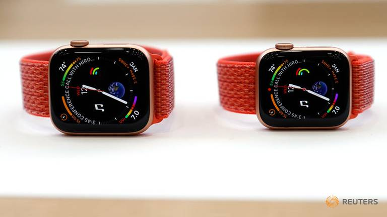 Apple Watch Series 4 /// Ảnh: Reuters
