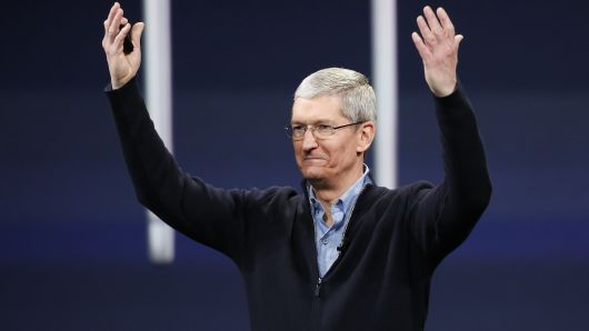 CEO Apple Tim Cook  /// Ảnh: AFP/Getty Images