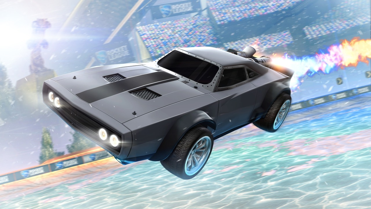 Rocket League ra mắt DLC 'ăn theo' phim The Fate of the Furious