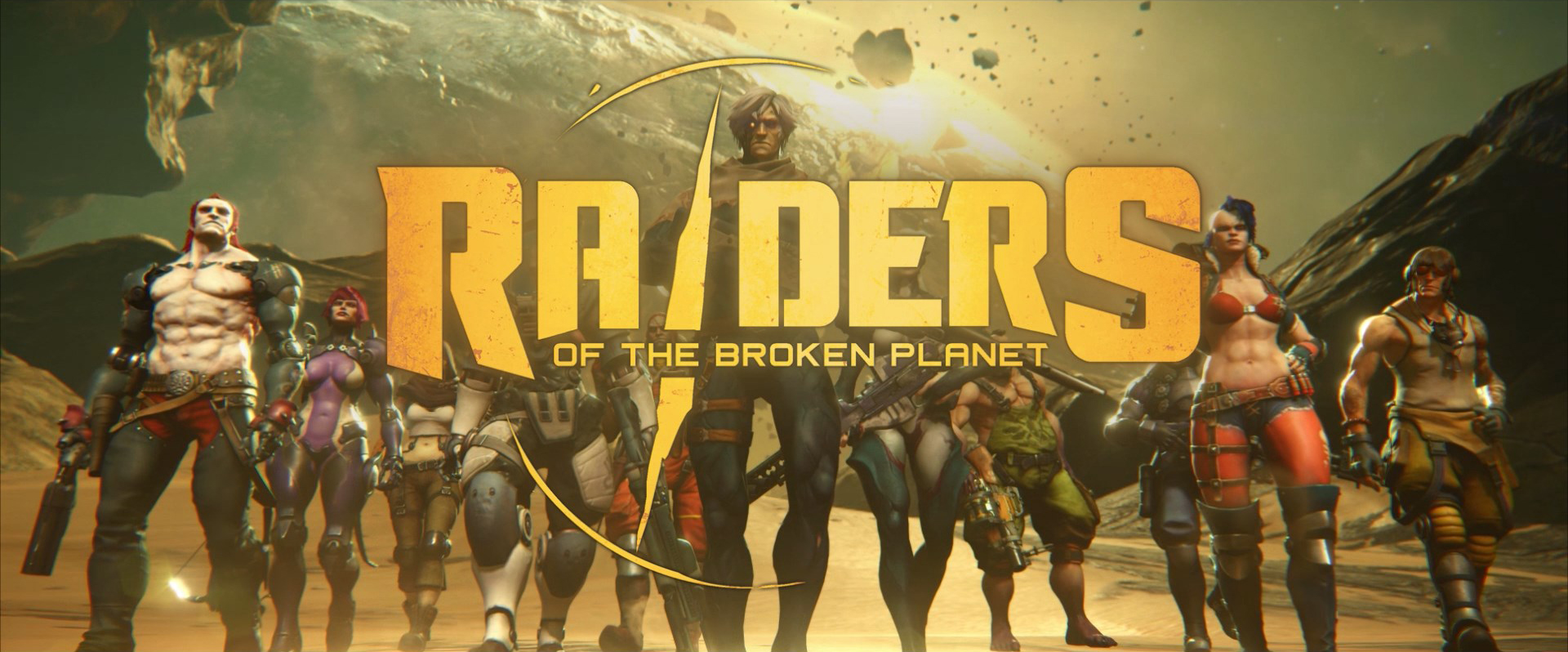 Game bắn súng Game Raiders of the Broken Planet tung trailer ấn tượng