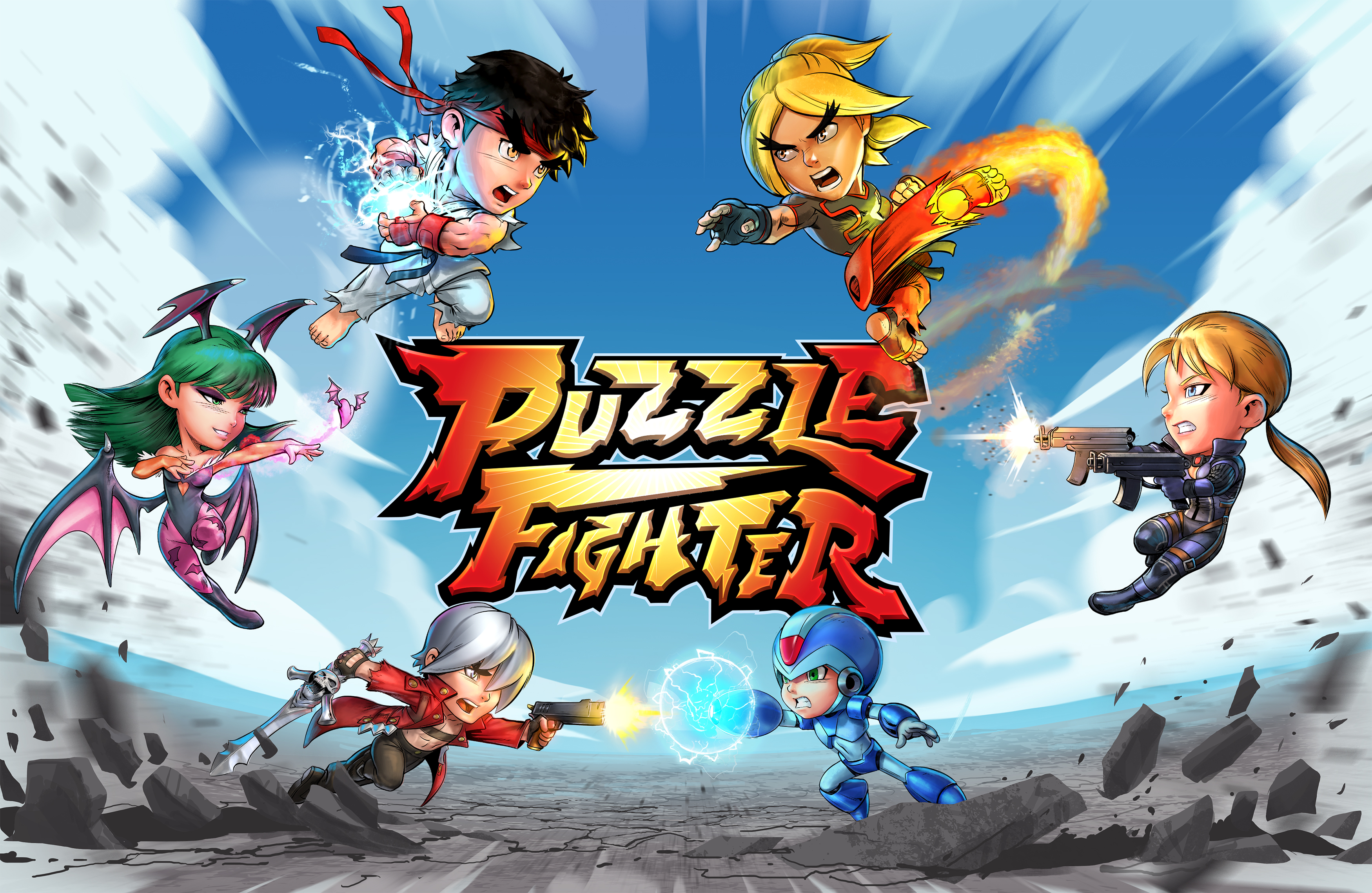 Capcom công bố game Puzzle Fighter mới cho Android và iOS