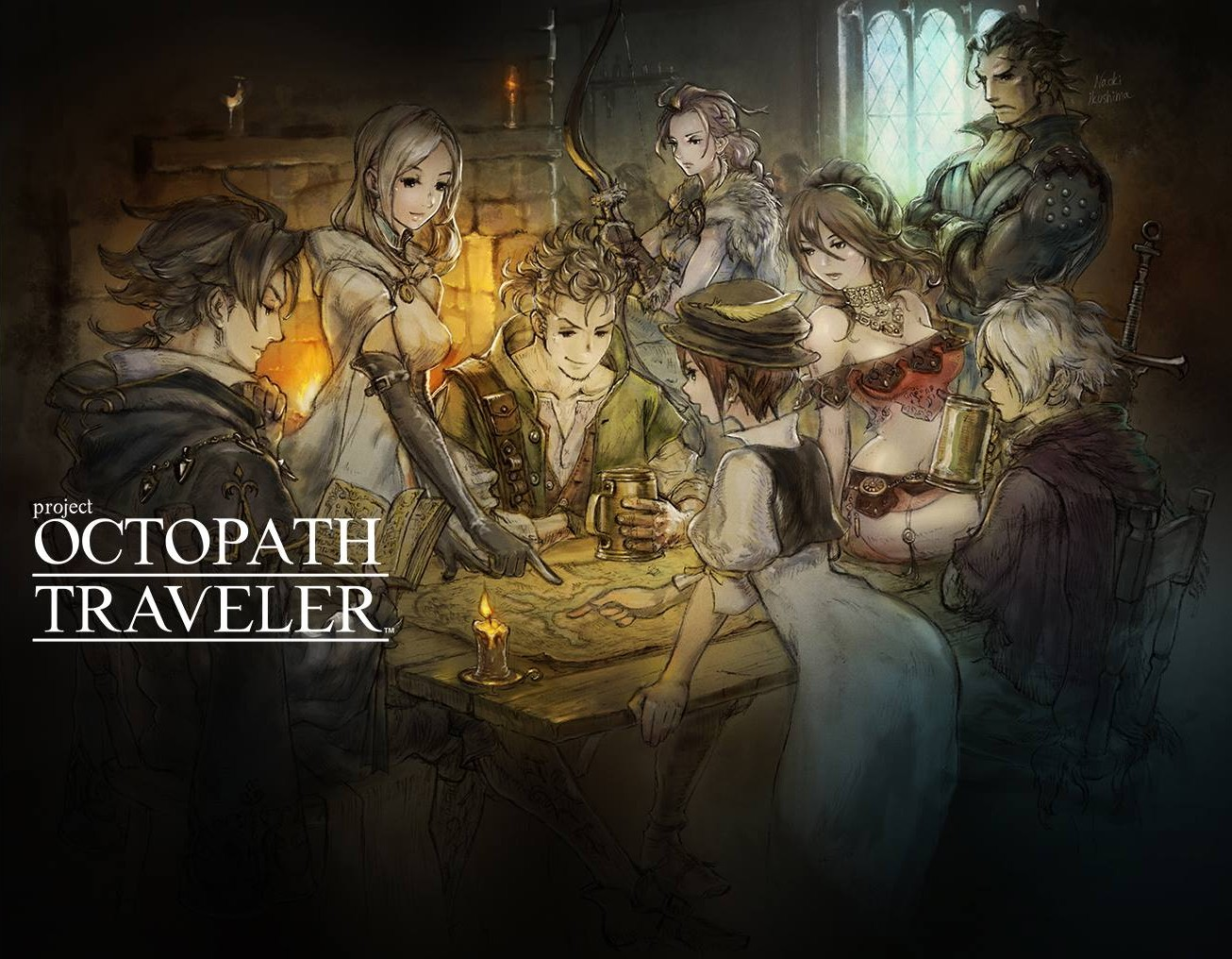 Project Octopath Traveler - Game độc quyền cho Nintendo Switch