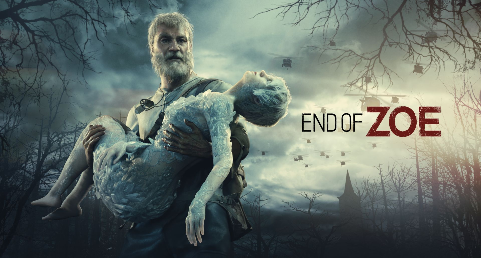 Resident Evil VII tung trailer DLC End of Zoe