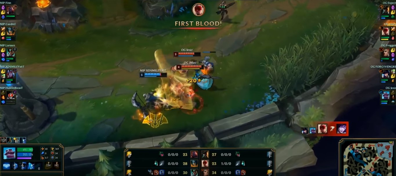 LMHT: Lee Sin trở lại trong tay inSec