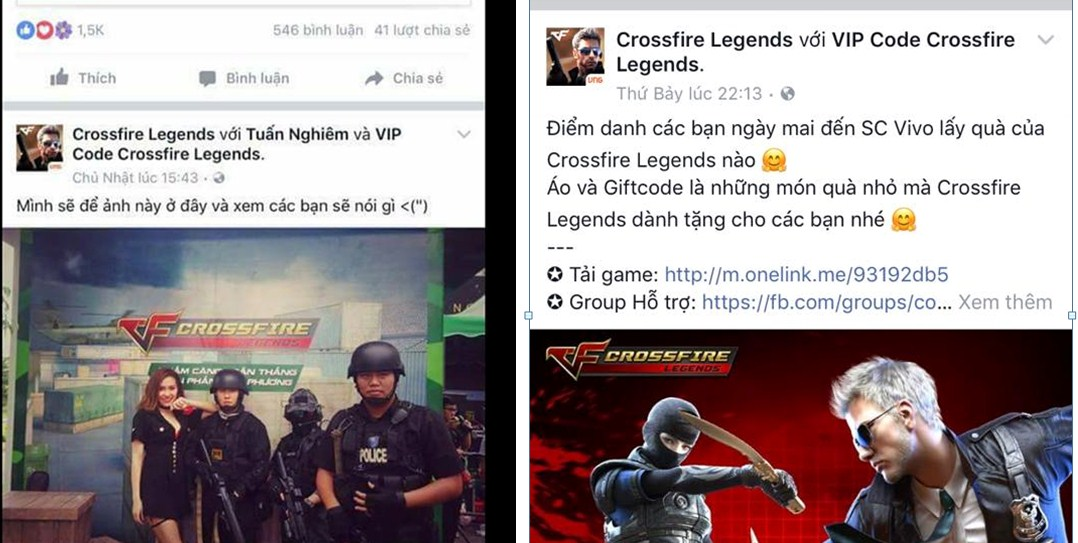 Chao đảo cộng đồng Crossfire Legends