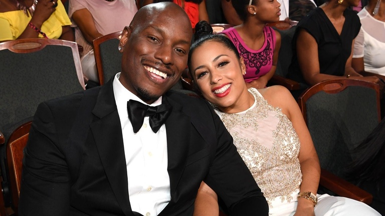 Tyrese Gibson và Samantha Lee Gibson.  /// Ảnh: Getty images