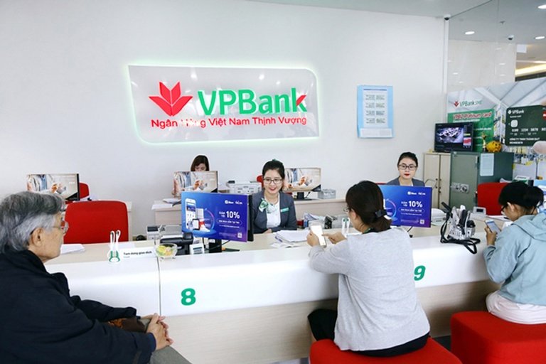 Quầy giao dịch của VPBank