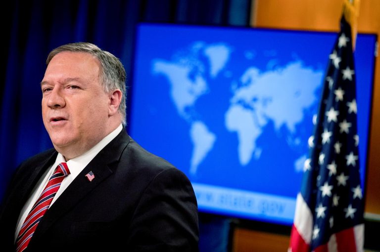 Ngoại trưởng Mỹ Mike Pompeo /// Reuters