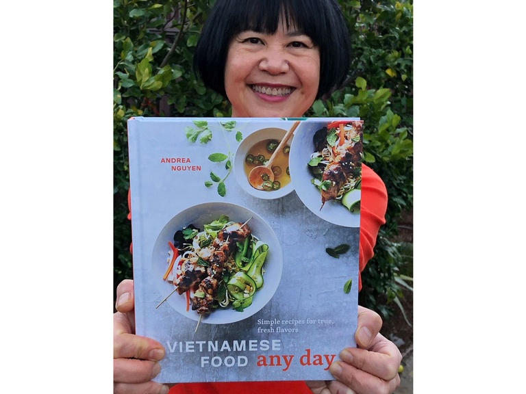 Andrea và quyển Vietnamese Food Any Day /// VIET WORLD KITCHEN