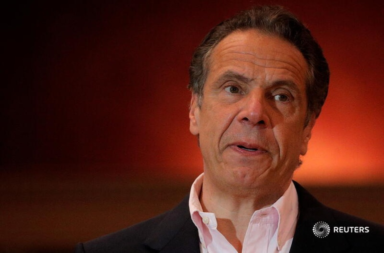 Thống đốc bang New York (Mỹ) Andrew Cuomo /// Reuters
