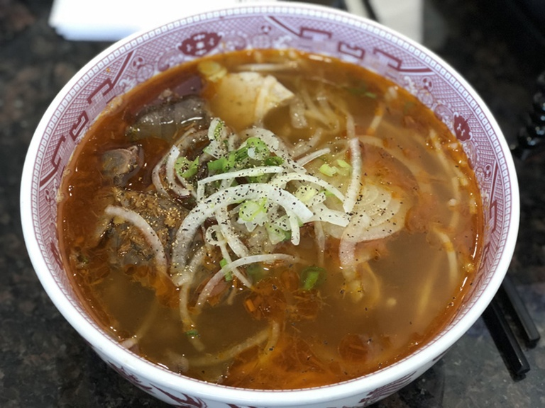 Bún bò ở Houston (bang Texas).
