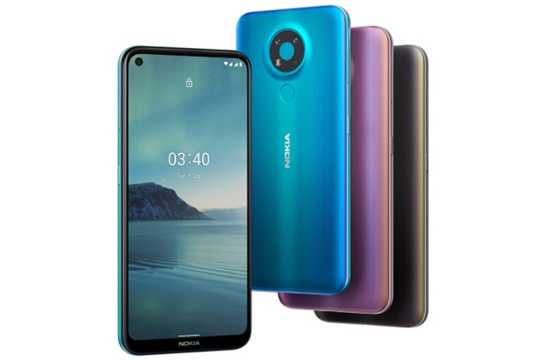 Nokia 3.4  ///  Ảnh: HMD Global