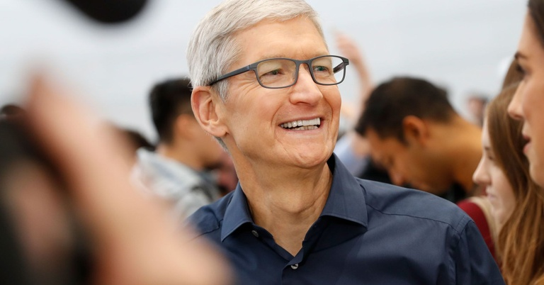 CEO Apple Tim Cook /// Ảnh: Reuters