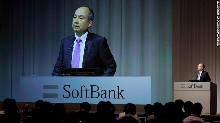 CEO SoftBank Masayoshi Son /// Ảnh: Bloomberg