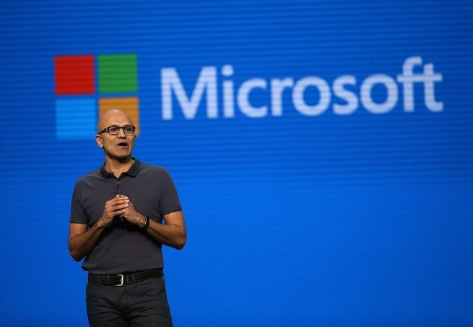 CEO Microsoft Satya Nadella /// Ảnh: AFP/Getty Images