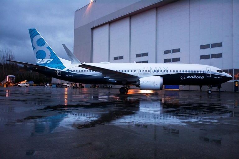 Boeing 737 Max /// Ảnh: Reuters