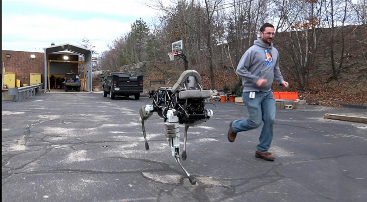 Robot của Boston Dynamics /// Ảnh: Boston Dynamics