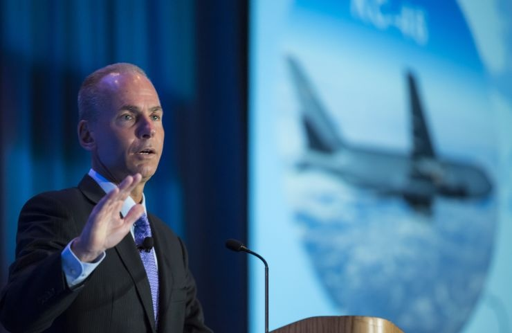 CEO Boeing Dennis Muilenburg /// Ảnh: AFP/Getty Images