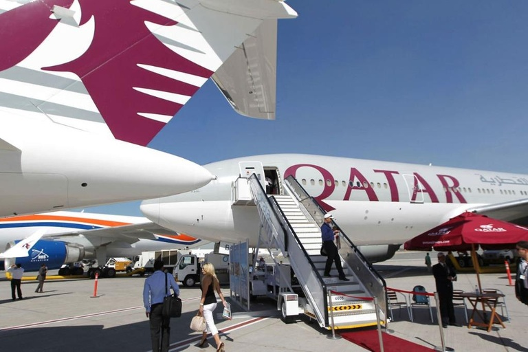 Qatar Airways /// AFP