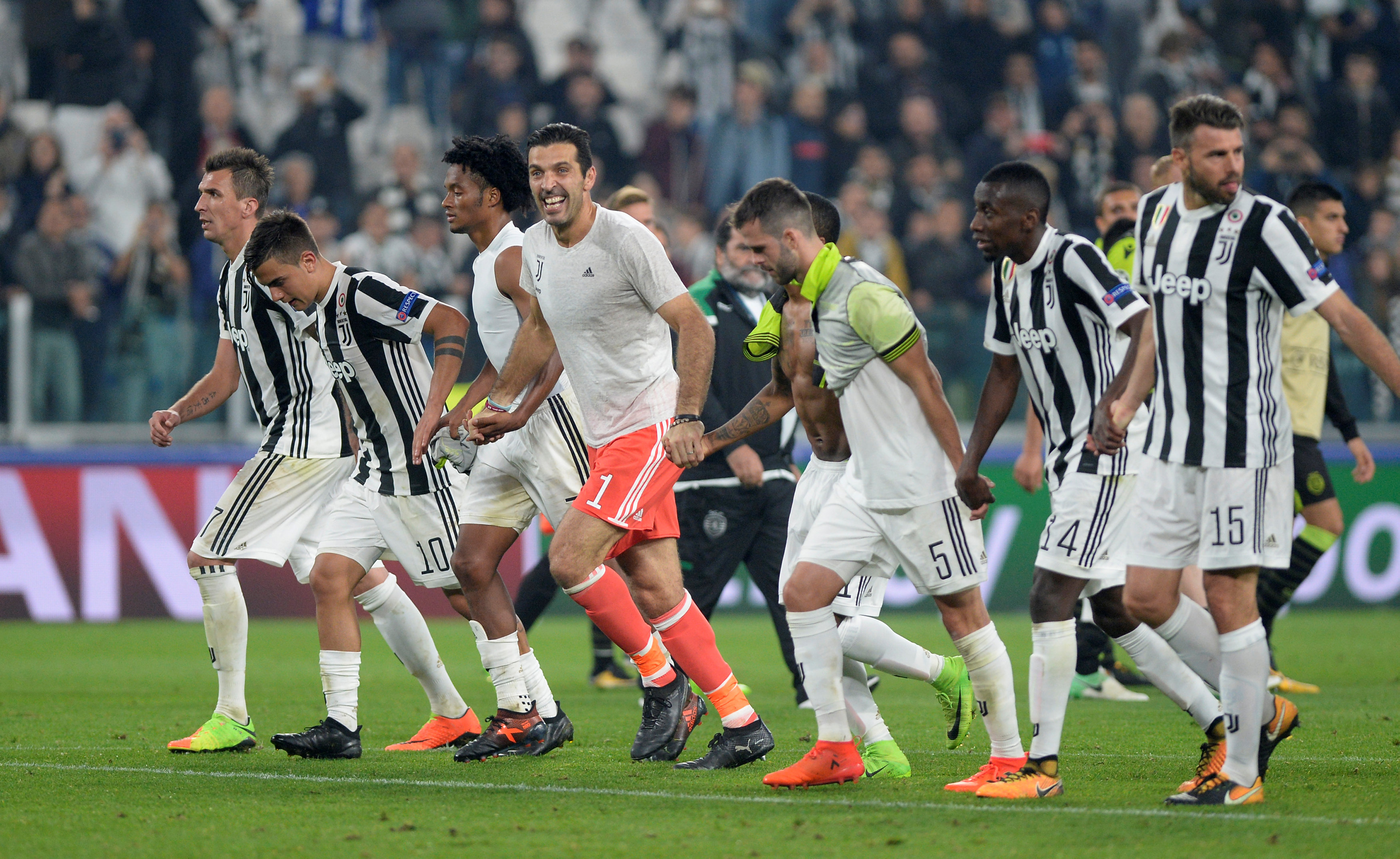 Champions League: Juventus thắng ngược Sporting CP