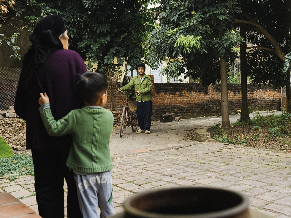 The family photo of the 9X boy's Tet holiday caused a fever in the online community - photo 21
